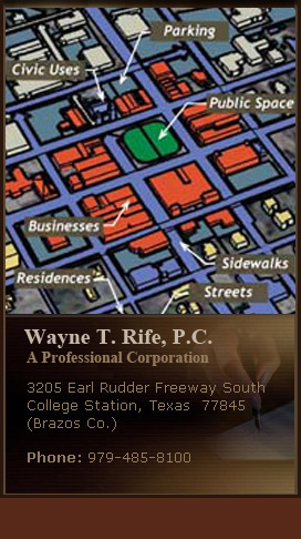 Wayne T. Rife- Planning and Zoning Attorney