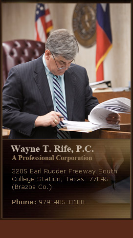 Wayne T. Rife- Litigation Attorney